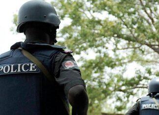 nigerian police arrest